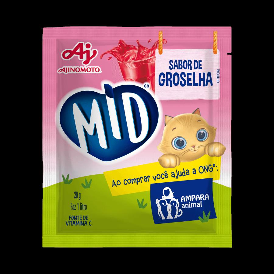 MID REFRESCO GROSELHA - 15X20G